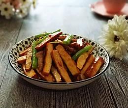 #一道菜表白豆果美食#芹菜炒豆干的做法