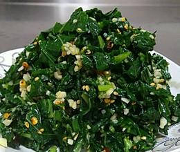 凉拌苏子叶的做法