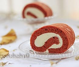红丝绒蛋糕卷#德国MIJI爱心菜#的做法