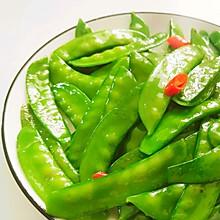 家常快手菜-清炒荷兰豆