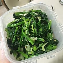 韩式下饭小菜之拌菠菜