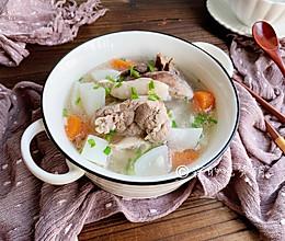 #秋天怎么吃#红白萝卜大骨汤的做法