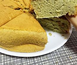 抹茶戚风蛋糕(8寸)的做法