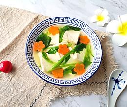 菠菜豆腐汤#餐桌上的春日限定#的做法