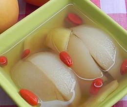 生姜甜梨汤的做法