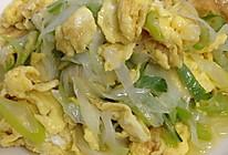 京葱炒蛋的做法