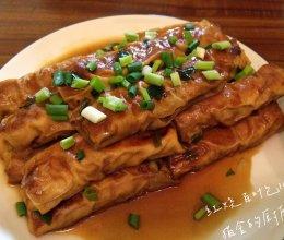 红烧百叶包肉的做法