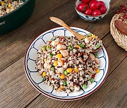 """蛋白质媲美牛肉的""""素食之王"""",减脂鲜虾藜麦饭的做法"""
