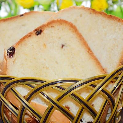 果馅面包——葡萄干枸杞吐司
