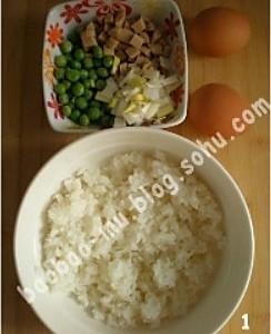 处理剩米饭之什锦米饼的做法