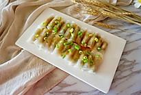 清蒸水晶萝卜肉卷的做法