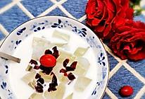 蔓越莓椰冻饮的做法