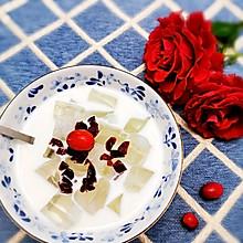 蔓越莓椰冻饮
