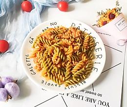 #精品菜谱挑战赛#番茄肉酱意面的做法