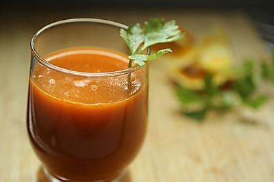金桔芹菜汁