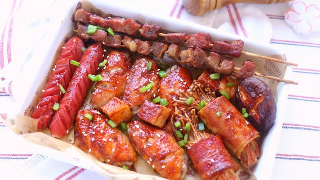 #一勺葱伴侣,成就招牌美味#家庭版烤箱烧烤的做法
