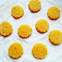 蒸出来的无油南瓜饼,健康美味,QQ的,甜甜的,糯糯的的做法图解5