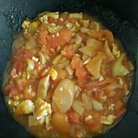 一个人的午餐——西红柿鸡蛋盖饭的做法图解6
