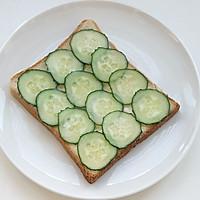 芒果金槍魚三明治的做法圖解4