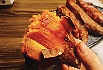 烤地瓜——烤出红油的做法