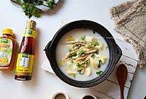 山药胡椒肚丝汤的做法