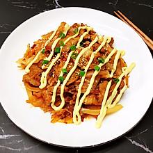 #美食视频挑战赛#辣白菜炒五花肉