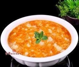 """""""番茄鸡蛋疙瘩汤""""价廉而美味的晚餐,这样做非常好吃的做法"""