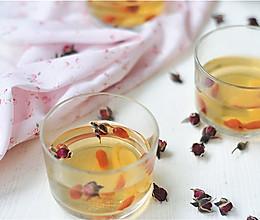 黄芪枸杞养颜茶#美的养生壶#的做法