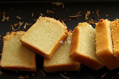 【椰香磅蛋糕】