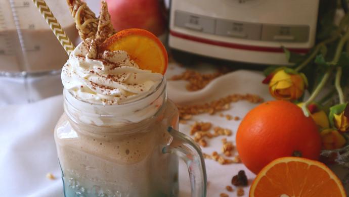 BOSCH维他汲享高速搅拌机评测食谱-橙香巧克力奶昔