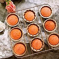 红曲芝士小蛋糕 #舌尖上的春宴#的做法图解9