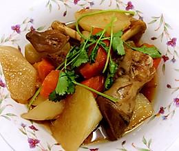 萝卜炖羊蹄的做法