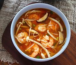 鲜美无比菌菇汤的做法