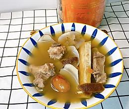 潮汕汤品竹蔗茅根陈皮汤的做法
