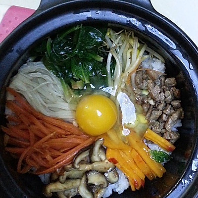韩国 石锅拌饭