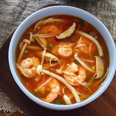 鲜美无比菌菇汤