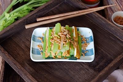 翡翠海米熏干