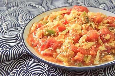番茄炒蛋-从香港厨师那学来的