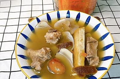 潮汕汤品竹蔗茅根陈皮汤