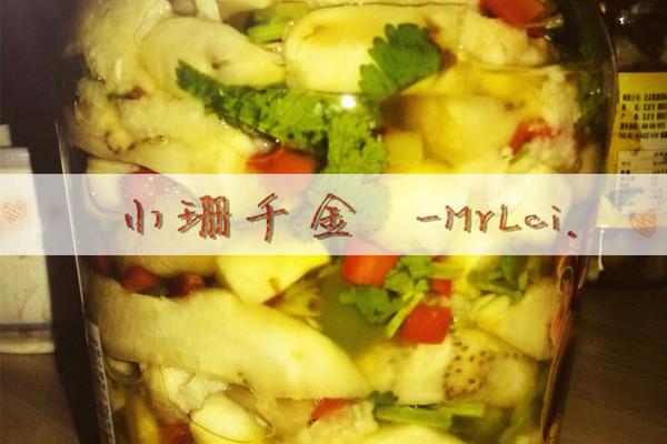 青红椒腌蒜茄子的做法