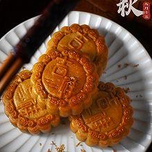 自制广式低糖豆沙蛋黄月饼