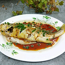 葱油大黄鱼#让爱不负好食光#