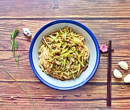 四季豆焖面的做法