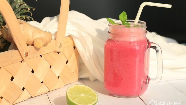 轻肠排毒蔬果汁的做法