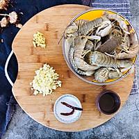 蒜蓉皮皮虾的做法图解1