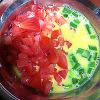 蕃茄肉松厚蛋烧的做法图解1