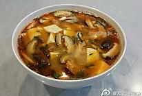 虾头香菇味噌汤的做法