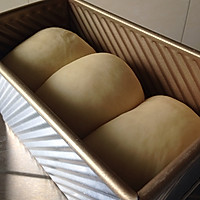 冷藏中种北海道吐司~面包机揉面的做法图解13