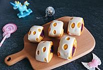 #童年不同样,美食有花样#  花样紫薯卷的做法