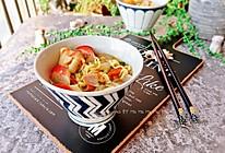 咖喱鱼丸浓汤面的做法